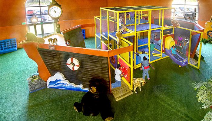 Ship Themed Playground inside Faith Chapel Church Birmingham AL