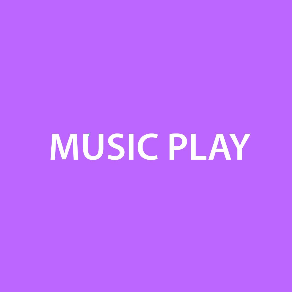 Music play button