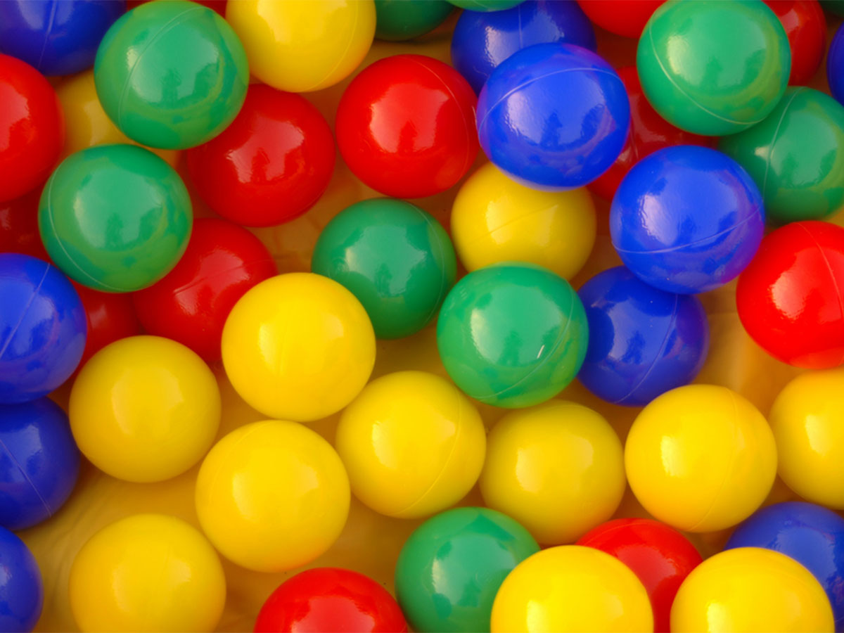 Multi-color Ballpit Balls