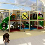 Train Station Themed Indoor Playground