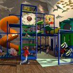 Large Coral on the Ocean Floor Themed Playground
