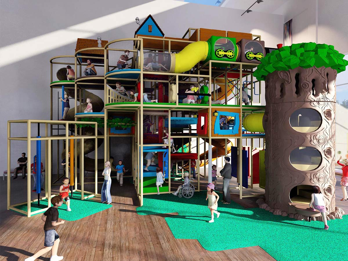 Large Indoor Playground Structures Large Indoor