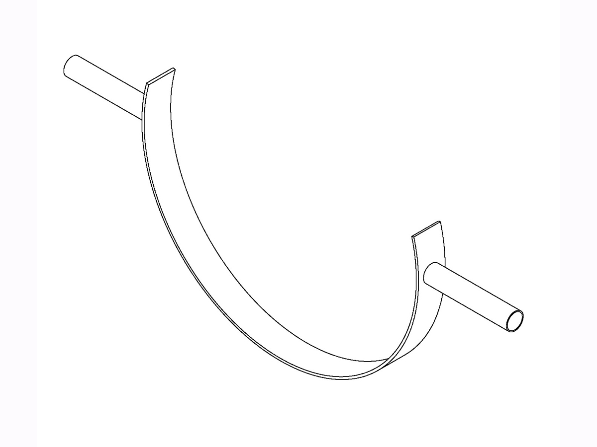 """C"" Tube Support Saddle"