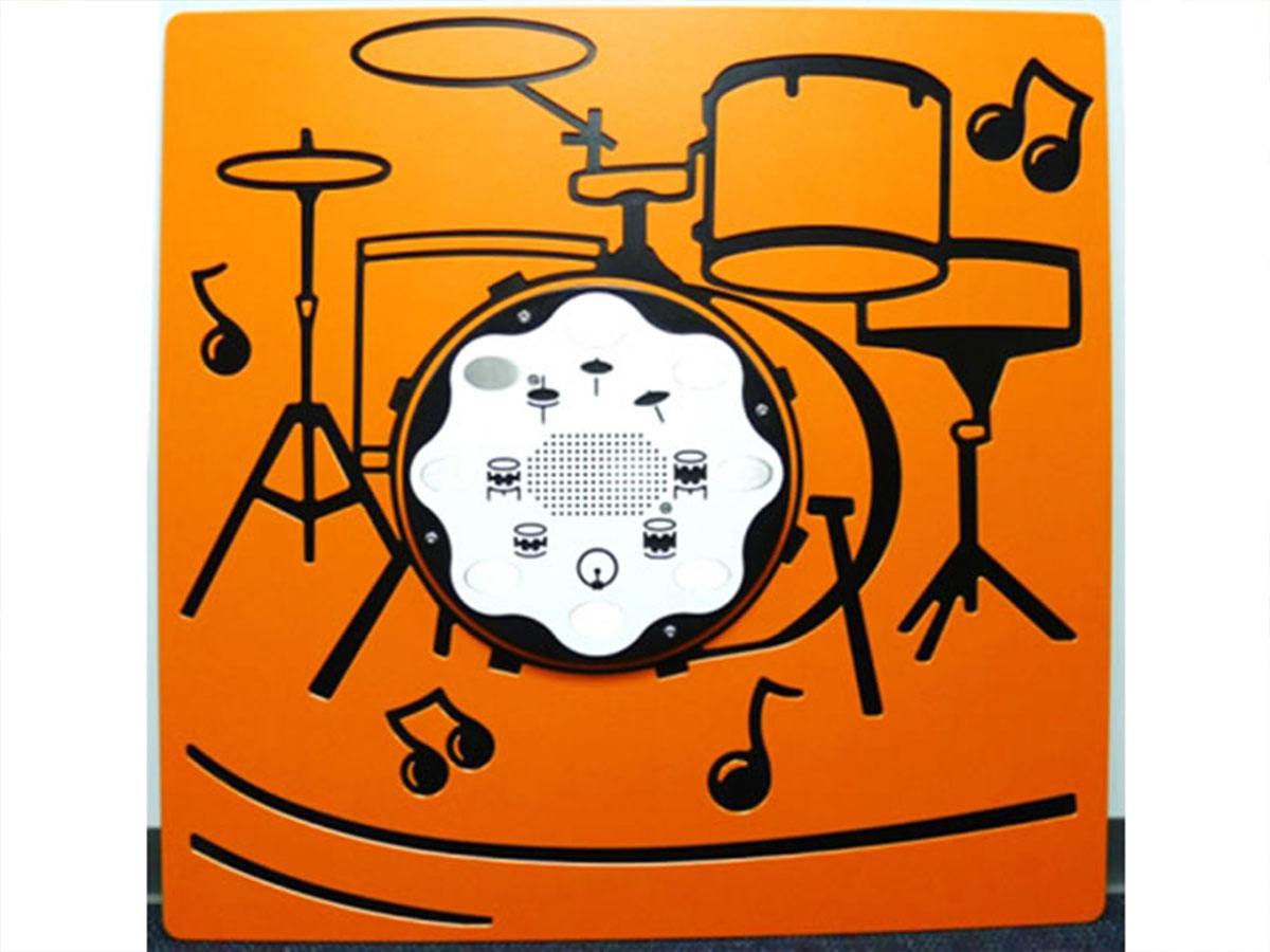 Electronic Drums Panel