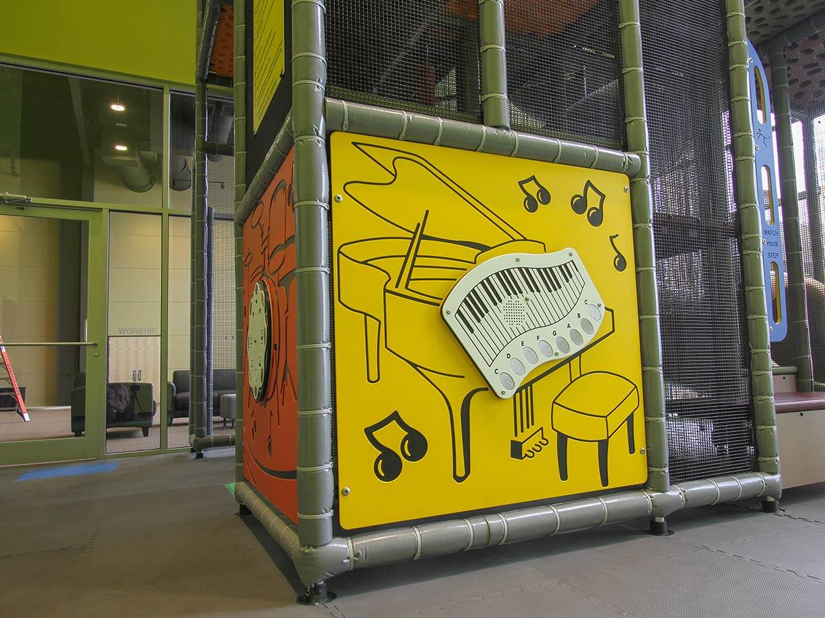 Electronic Piano Panel