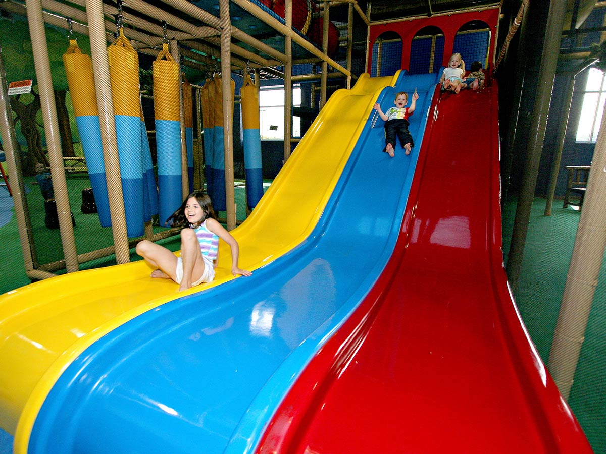 Wave slide soft play for Indoor playground for toddlers near me