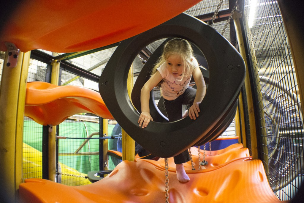 Play Equipment for Indoor Trampoline Park