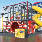 Ninja Playground Set with Ninja Stars and Ninja Art