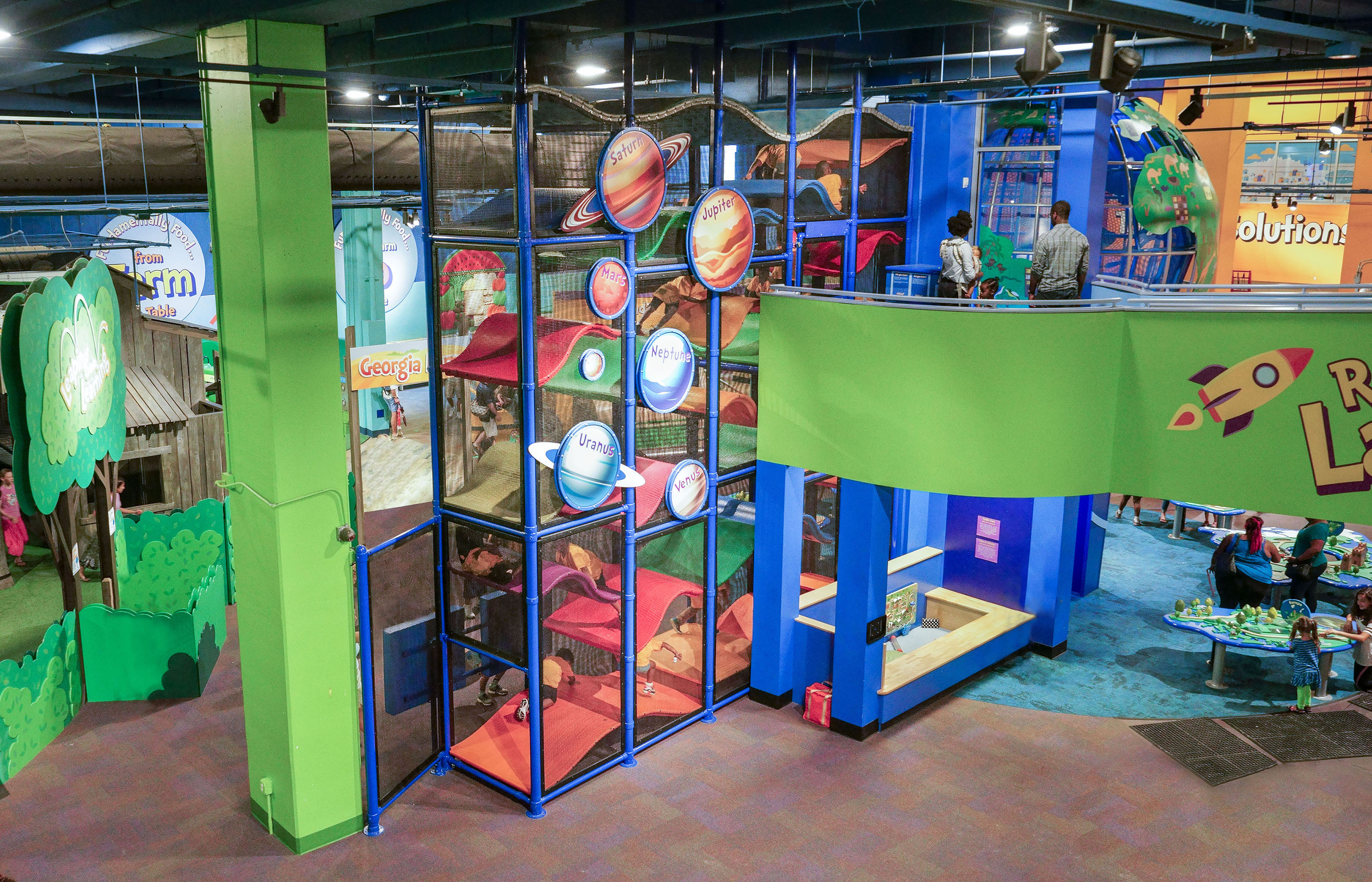 Featured project in Children's Museum of Atlanta