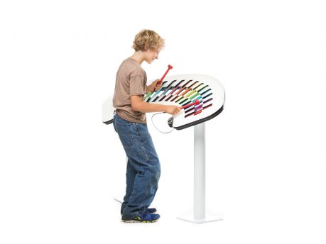 Musical interactive play element