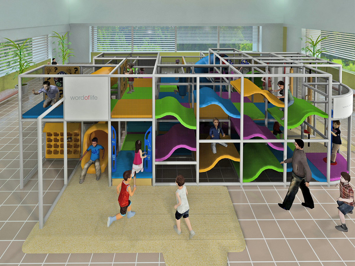 Large Indoor Playground Structures | Large Indoor Commercial ...