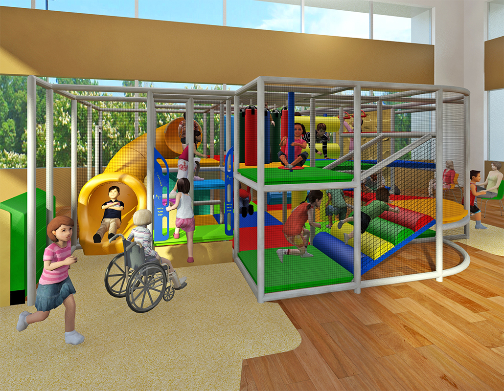 Classic Indoor Playground Structures | Indoor Commercial Playgrounds
