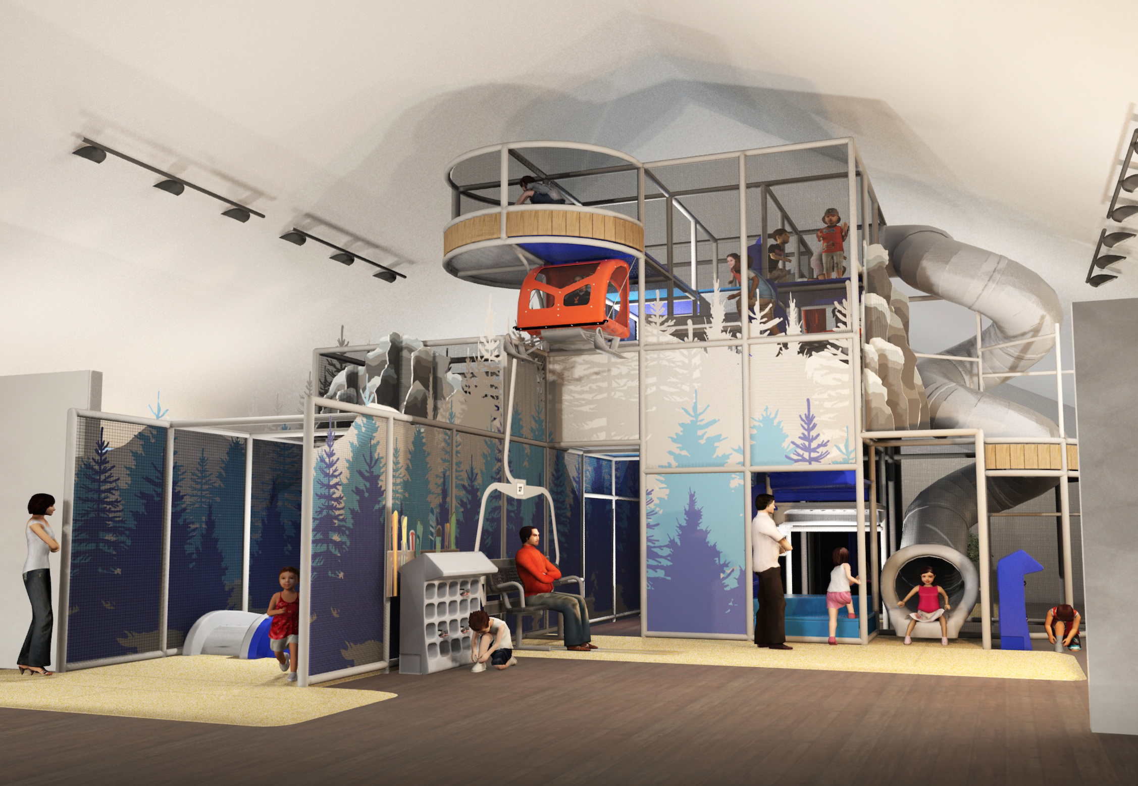 Artic play area design