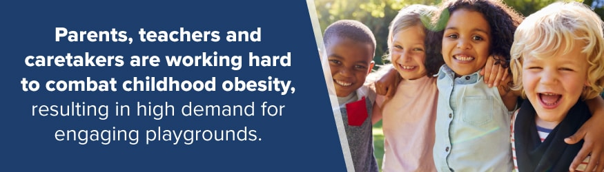 Playgrounds Combat Obesity