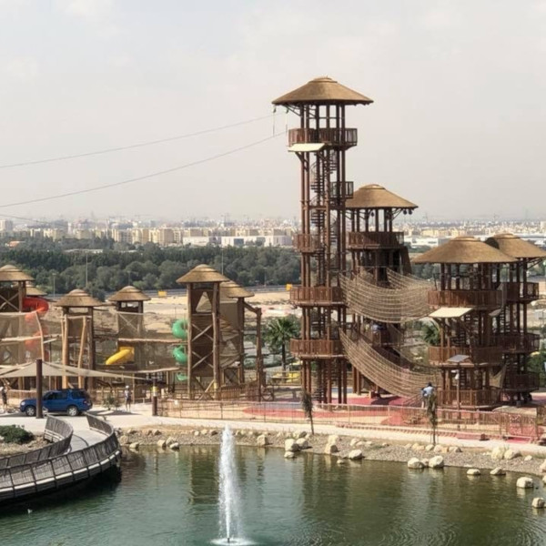 Dubai Safari Park Adventure Course