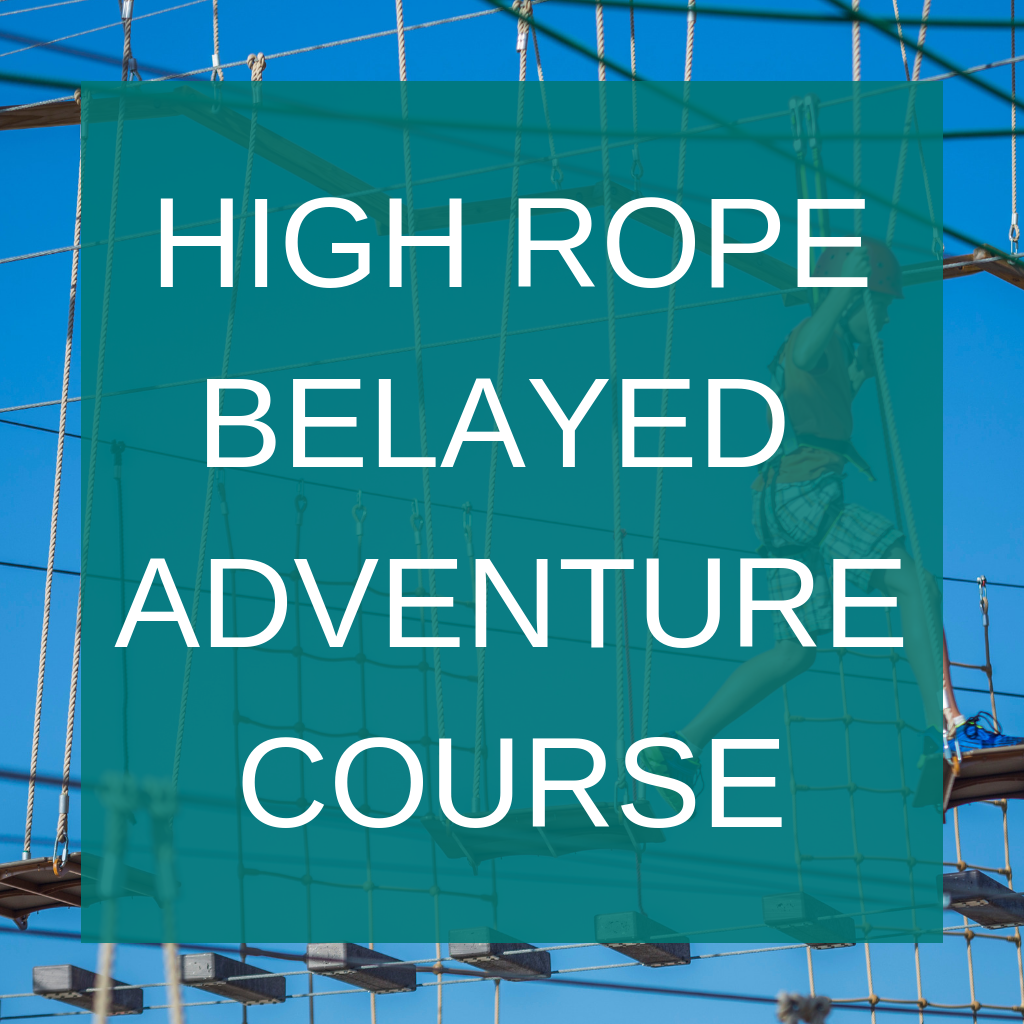 High Rope Belayed Adventure Course button