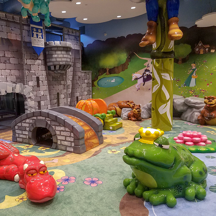 Children's hospital fairytale play area
