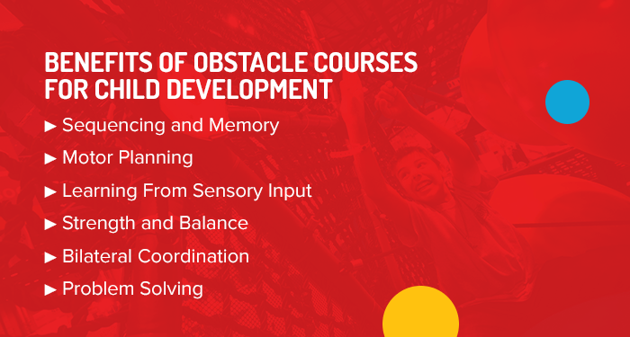 Benefits of obstacle courses for children