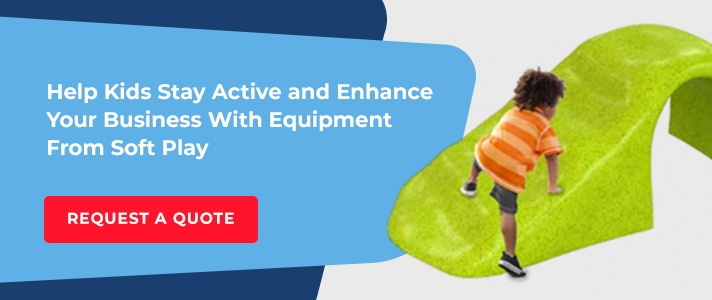Help kids stay active with Soft Play equipment