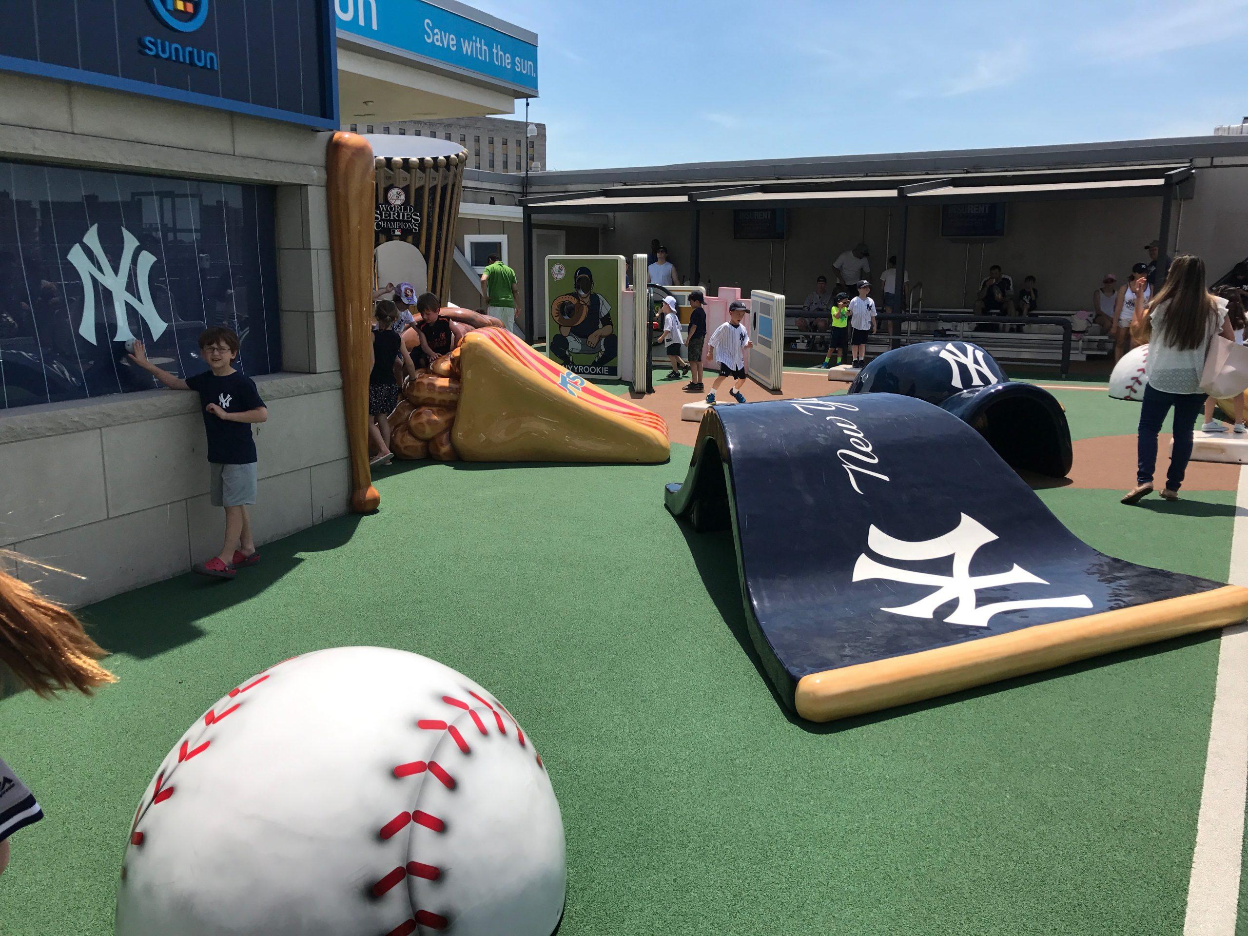 Baseball branded sculptures