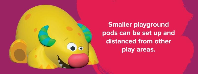 Pop up mini playgrounds