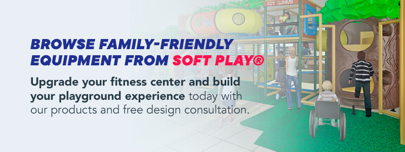 Browse family friendly equipment form Soft Play
