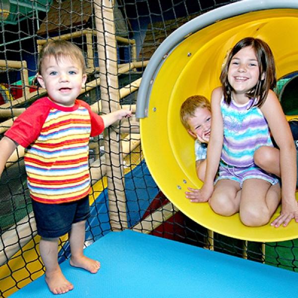 Children Playing on His Hands Church Playground Atlanta GA